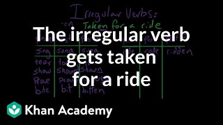 The irregular verb gets taken for a ride | Grammar | Khan Academy