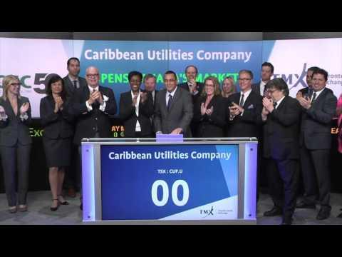 Caribbean Utilities Company, Ltd. (CUP.U) Opens Toronto Stock Exchange, April 15, 2016