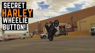 Secret Harley Wheelie Button! Elite MotoTech Easy Pull Clutch Lever Review Impressions Clu ...