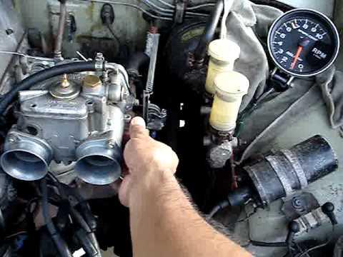 Weber sidedraft adapter on Datsun L series