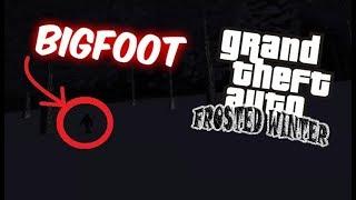 GTA: ENCONTRE A BIGFOOT EN LIBERTY CITY [GTA FROSTED WINTER]