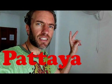 What does a $20 hotel room in Pattaya, Thailand look like?