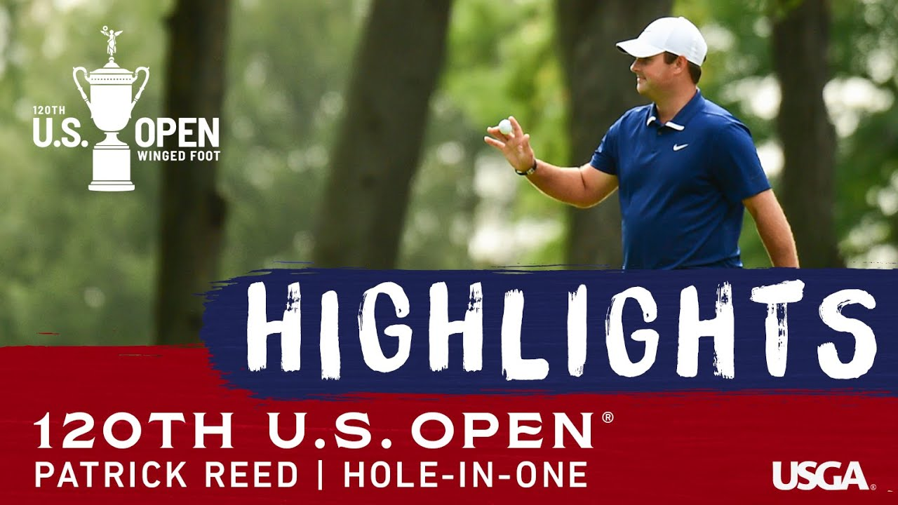 2020 U.S. Open: Patrick Reed Aces the 7th Hole in Round 1