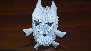 3d Origami A Wolf Tutorial