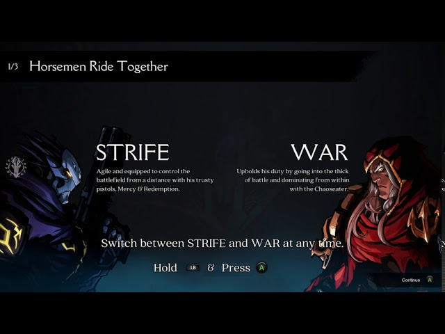 Darksiders Genesis - No Commentary Gameplay - Video 1