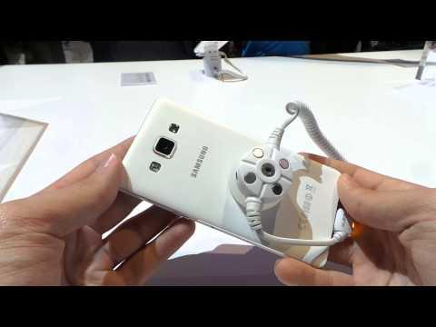 Samsung Galaxy A5 bemutató videó