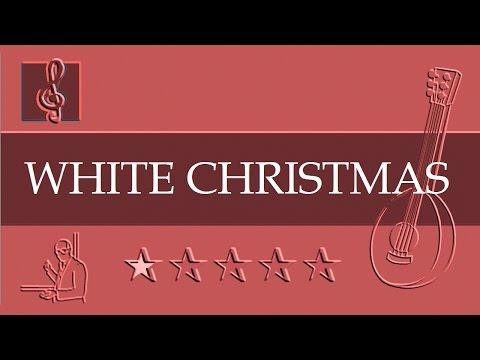 Mandolin Notes Tutorial - Christmas song - White Christmas (Sheet Music)