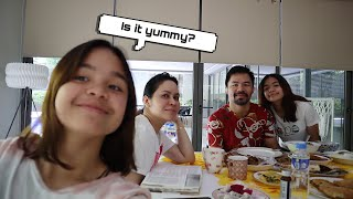 COOKING BREAKFAST FOR MY PARENTS!!! | Mary Pacquiao and Family |