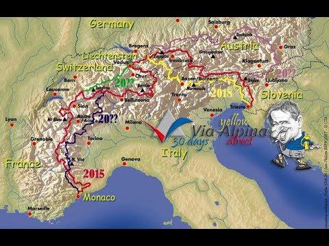 Via Alpina: 107 dni Alp / 107 days of Alps (HDV 1280x720)