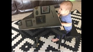 Baby Pianist! (9-17-15 - Day 85)