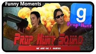 Garry's Mod Prop Hunt Gameplay | Prop Hunt Squad (Funny Moments)