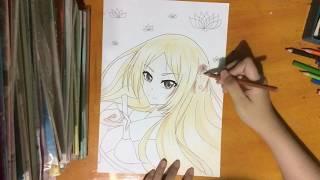 Speed Drawing: Natsume Reiko [Natsume Yuujinchou]