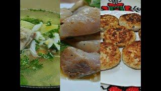 3 блюда из толстолобика