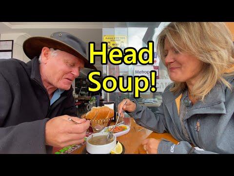 FUN IN SEYDIKEMER TRYING TRADITIONAL FOODS!