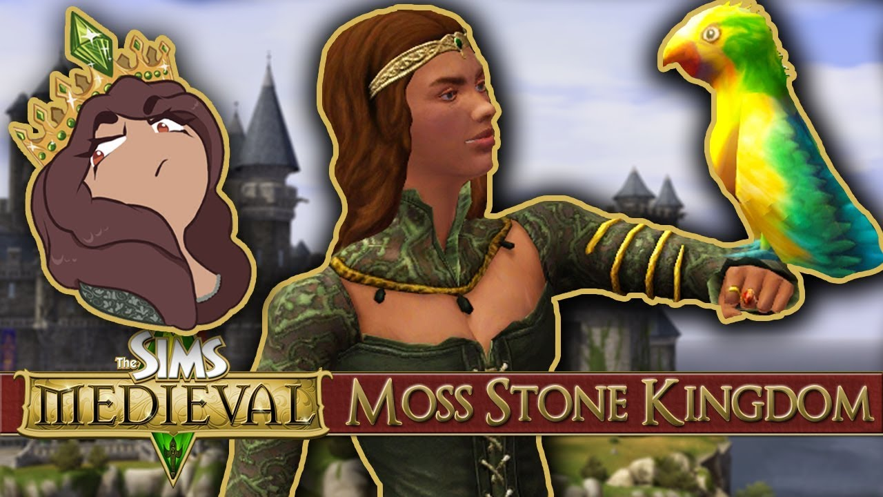 Download Sassy in Royal Green Silks 👑 Sims Medieval: Long Live The Queen! - Episode #18