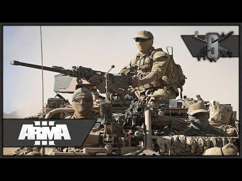 Australian Desert Patrol - ArmA 3 - Australian Special Forces FTL Gameplay