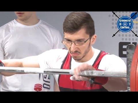Dawid Natorski - 1st Place 66 Jr - EPF Classic Championships 2018 - 593 kg