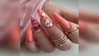 Удивительно красивый праздничный маникюр Дизайн ногтей Идеи Holiday Manicure Nail Design