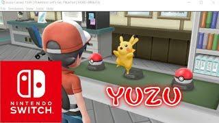 Pokemon精靈寶可夢 Let's Go!皮卡丘 電腦Switch版(YUZU)測試