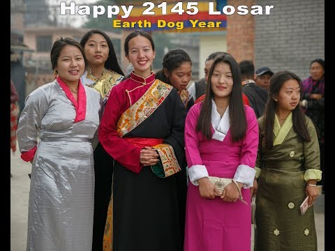 Tibetan Happy 2145 Losar Earth Dog Year, Samdupling Settlement (Jawalakhel)