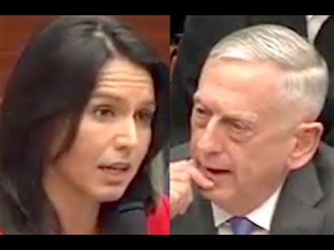"""THIS IS ILLEGAL!!"" Congresswoman Tulsi Gabbard's BRILLIANT Takedown of Trump's Illegal War in Syria"