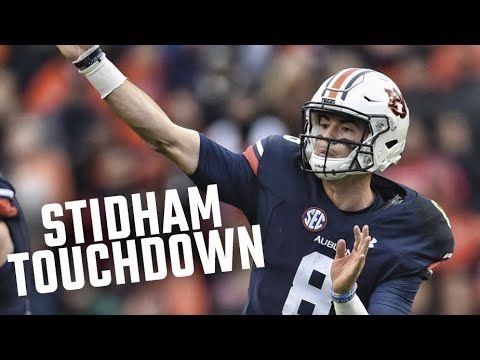 Auburn's Jarrett Stidham Airs It Out To Darius Slayton For A Touchdown Against Georgia
