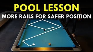 Pool Lesson | Use Rails For Easier Cue Ball Control