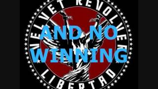 Velvet Revolver - The Last Fight w/ lyrics
