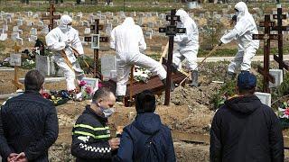 Массовые смерти рекорды с начала пандемии COVID 19 в России