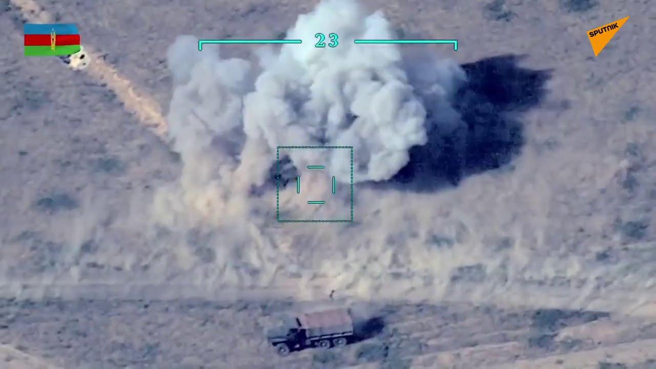 Azerbaycan, Ermenistan'a ait askeri ekipmanları imha ettiğini açıkladı