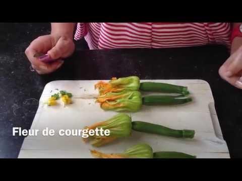 comment-nettoyer-la-fleur-de-courgette-?