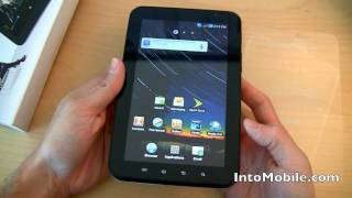 Sprint Samsung Galaxy Tab Android Tablet Hardware Tour And Unboxing