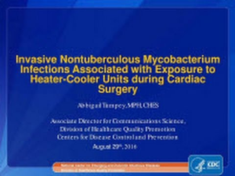 Invasive NTM Infections and Heater-Cooler Units Webinar