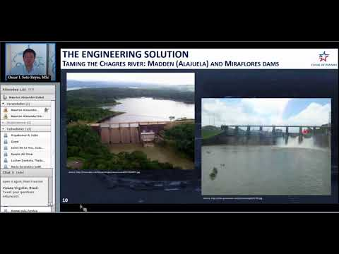 IHE Delft 💧 Alumni Online Seminar on Panama Canal Expansion Building the future honoring the past