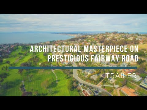 [Trailer] La Jolla Architectural Masterpiece Features Stunning Ocean and Golf Course Views