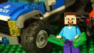 Лего НУБик Майнкрафт и Машинки Лего Полиция Мультфильмы и Мультики LEGO Minecraft Видео для Детей