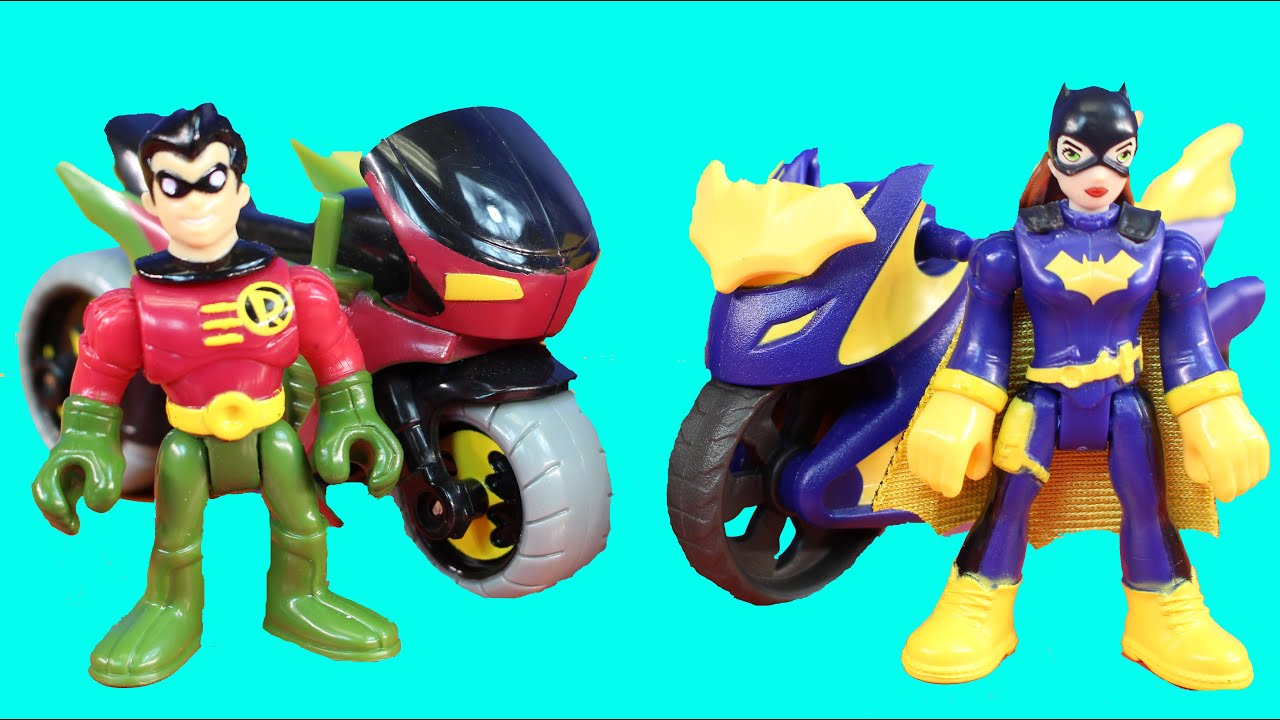 Imaginext Batgirl And Robin Go On A Rescue Mission To