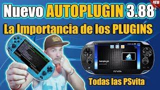 NUEVO Autoplugin 3.88 La IMPORTANCIA de los Plugins en tu PSVITA