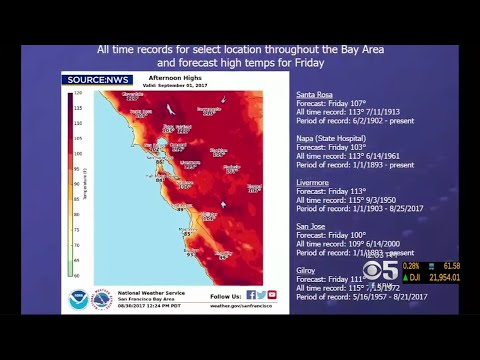 Bay Area Braces For Record Heat
