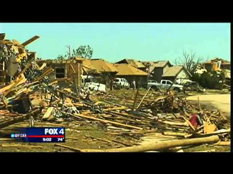 First look at hardest hit area in Moore