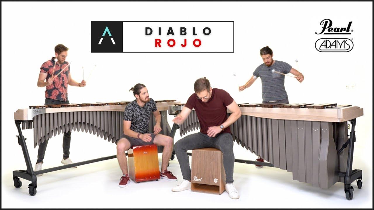 Diablo Rojo for 2 Marimbas/Cajons - @Rodrigo y Gabriela  Cover