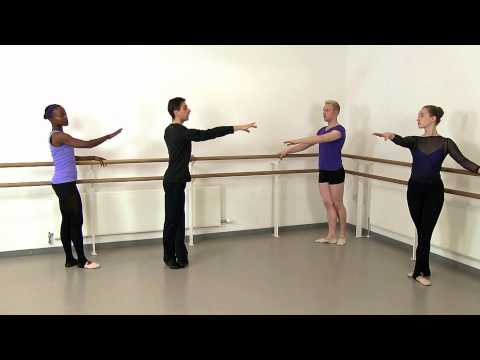Introduction to Adult Ballet Class DVD/download with Glauco Di Lieto