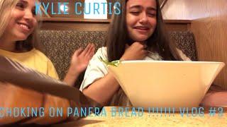 CHOKING ON PANERA BREAD!!? Vlog #3 | Kylie Curtis