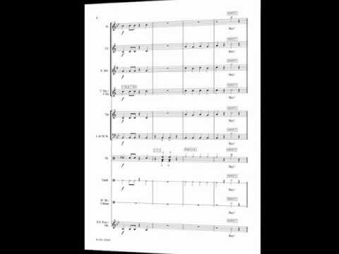 Iko Iko printed sheet music for beginner school concert band