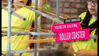 Roller Coaster-Problem Solving Team Building| Johor Bahru | Desaru |  HRDF Claimable