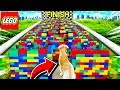 WORLD'S BIGGEST LEGO MAZE for PUPPY! (GIANT LEGO DOG MAZE)