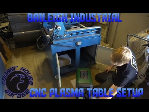 Baileigh Industrial Cnc Plasma Table Setup Cougar House Films Ep197