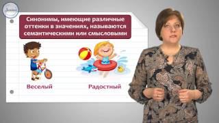 Уроки русского Синонимы