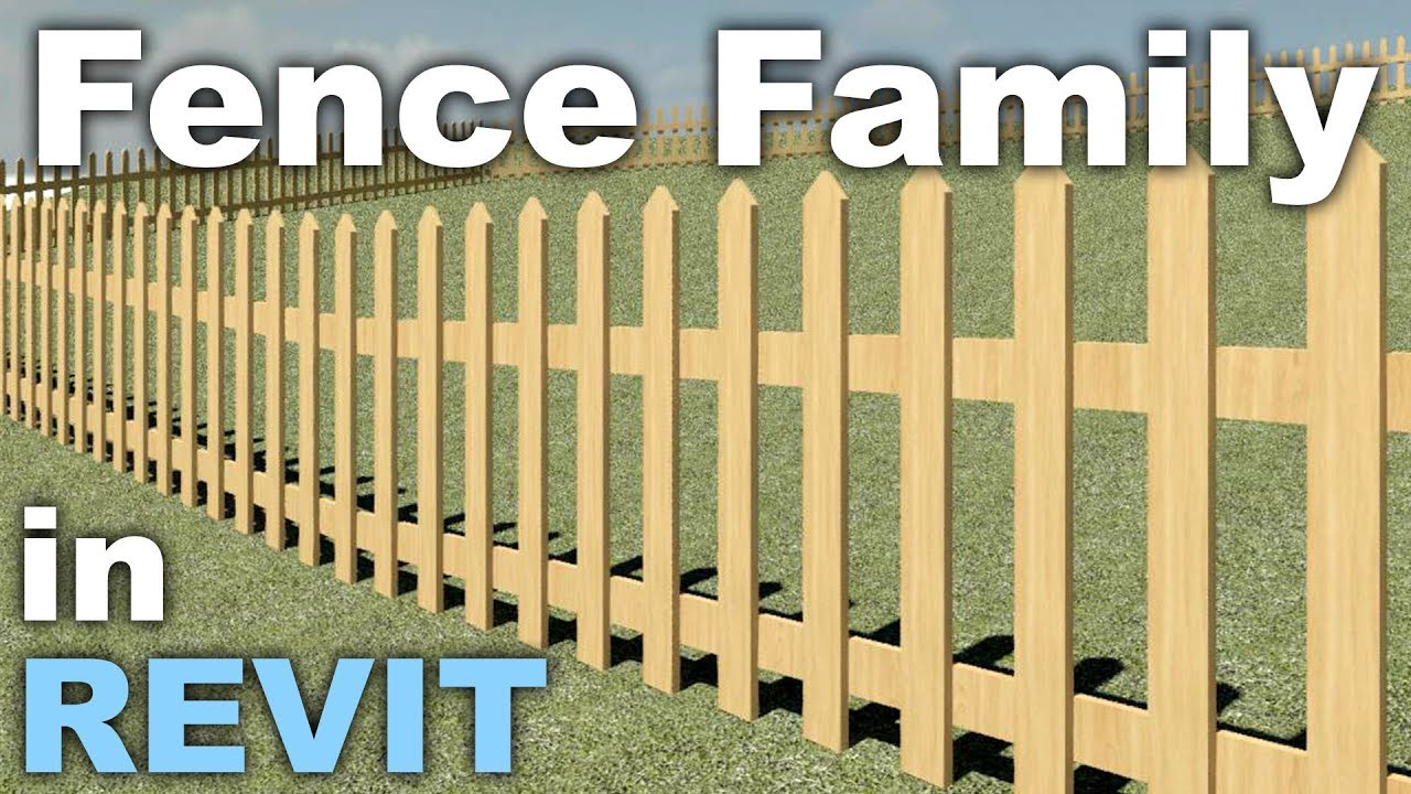 Fence Family in Revit Tutorial