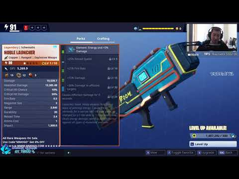 noble launcher fortnite
